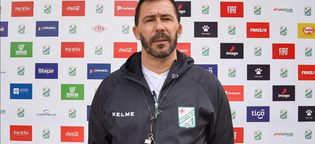 Pablo 'Vitamina' Sánchez, DT de Oriente Petrolero. Foto: Captura video