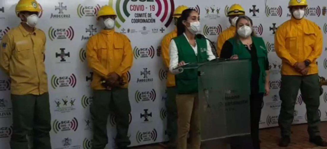 Añez dijo que hay seis municipios declarados en desastre