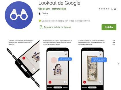 Lookout de Google