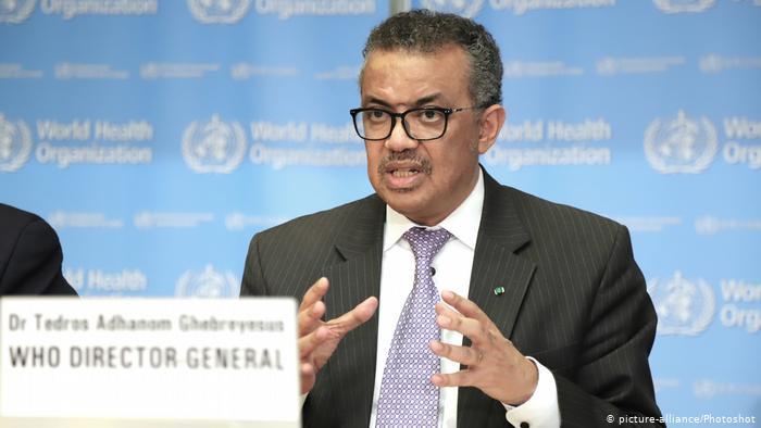 Tedros Adhanom Ghebreyesus, director de la Organización Mundial de la Salud (OMS).