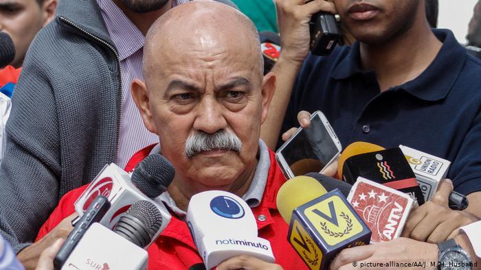 El jefe de Gobierno de Caracas, Darío Vivas.