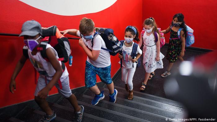 Deutschland   Coronavirus   Schulstart (Getty Images/AFP/I. Fassbender)