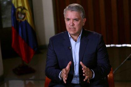 El presidente de Colombia, Iván Duque. Foto: REUTERS/Luisa González