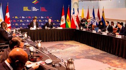Foto de archivo del Grupo de Lima. Foto: EFE
