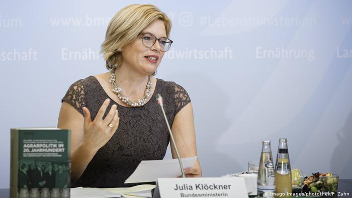 La ministra alemana de Agricultura, Julia Klöckner.