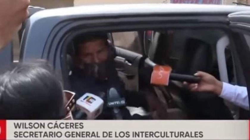 Aprehenden al líder de Interculturales por supuesta posesión de vehículo del Estado