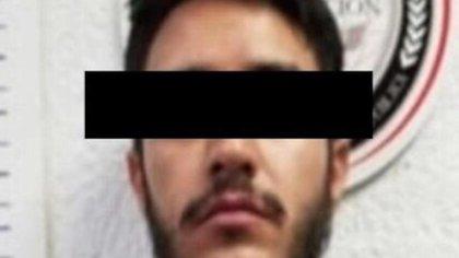 """Luis Fernando """"N"""", hijo del abatido narco mexicano Amado Carrillo, """"El Señor de los Cielos"""", fue vinculado por el feminicidio de la estudiante Ámbar Dolores, cometido el 30 de mayo de 2019 (Foto: Twitter/ AMIC_SONORA)"""