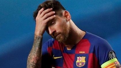 Lionel Messi le envió un ultimátum a la dirigencia del Barcelona (REUTERS)