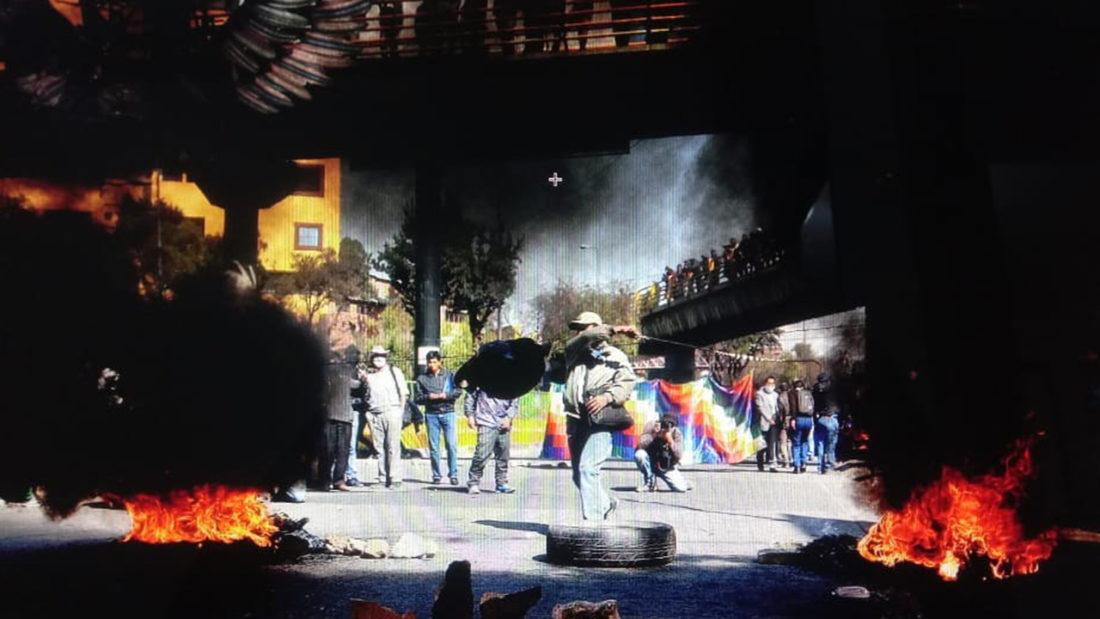 Movilizaciones y enfrentamientos en El Alto