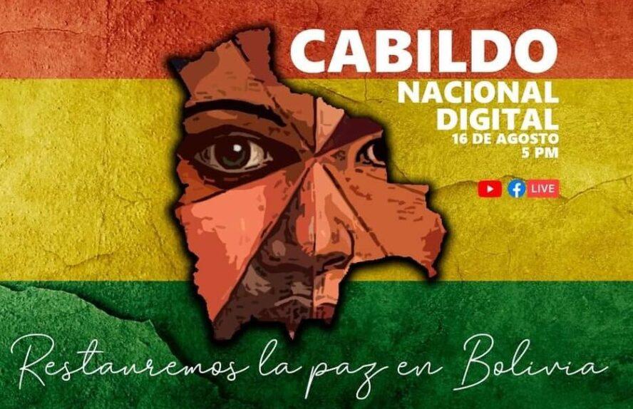 Bolivia va por el 'Primer Cabildo Digital' a nivel mundial