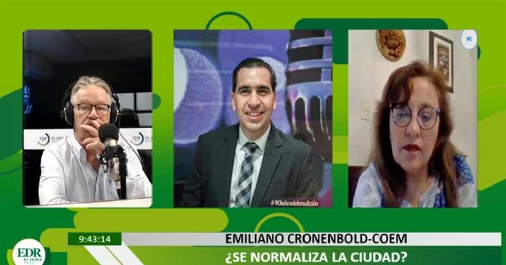 Emiliano Cronenbold en ¡Qué Semana!