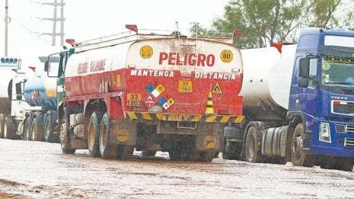 En el occidente los bloqueos limitaron el abastecimiento normal de carburantes