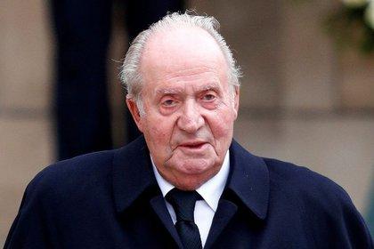 El rey emérito de España, Juan Carlos I, después de asistir al funeral del Gran Duque Jean en la Catedral de Notre-Dame de Luxemburgo, 4 de mayo de 2019. (REUTERS/Francois Lenoir/ Foto de archivo)