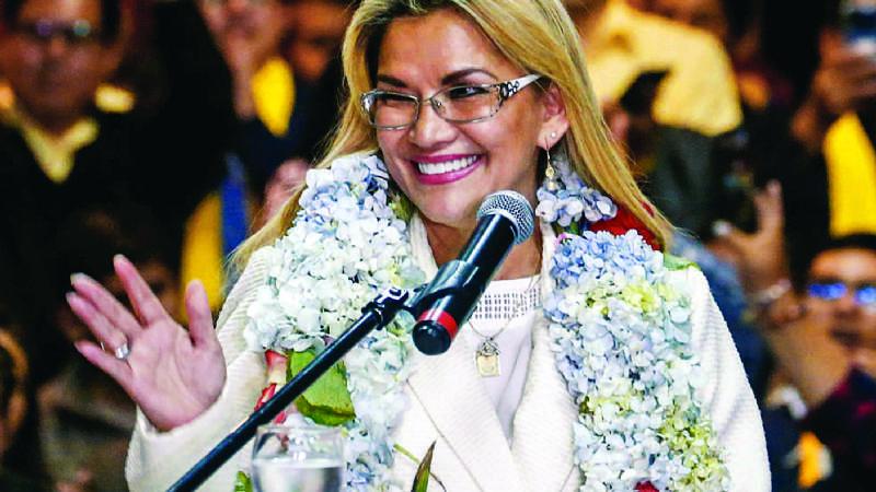 Murillo: Añez candidatea por la mezquindad de sus contrincantes