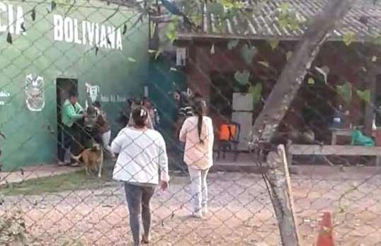 Captura del video que circula en redes