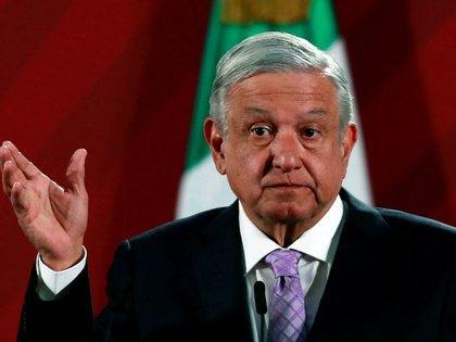 Imagen de archivo. El presidente de México, Andrés Manuel López Obrador, asiste a una conferencia de prensa en el Palacio Nacional en la Ciudad de México, México.18 de febrero de 2020. REUTERS / Henry Romero