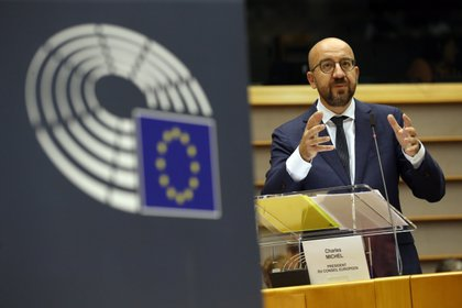 El presidente del Consejo Europeo, Charles Michel (EFE/EPA/STEPHANIE LECOCQ)