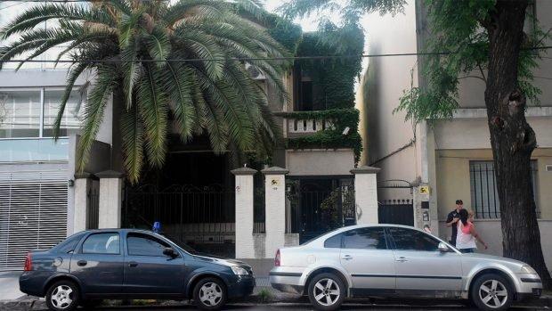 Palacete de Buenos Aires (Argentina) donde está viviendo Evo Morales.
