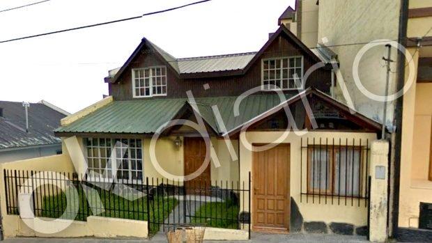 Casa usada por Evo Morales y su presunta pareja de 19 años en su viaje a Ushuaia (Argentina).