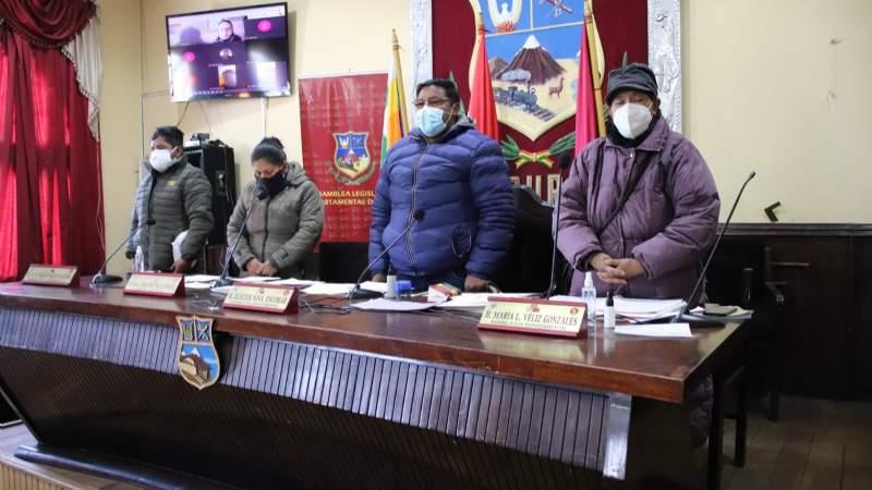 Asamblea de Oruro aprueba ley para el uso de dióxido de cloro contra el coronavirus
