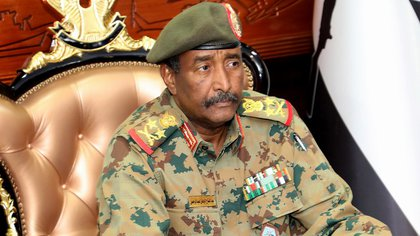 El presidente del gobierno de transición del Sudan Abdel Fatah al-Burhan