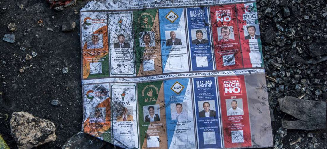 Papeleta usada en los pasados comicios I APG Noticias.