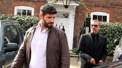 Detienen a Fadi Fawaz, ex de George Michael, por destrozar varios coches con un martillo en las calles de Londres (Shutterstock). Fue grabado por los vecinos de la zona y luce irreconocible