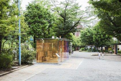 Los baños están habilitados en parques del distrito de Shibuya, en Tokio. (Satoshi Nagare/tokyotoilet.jp)