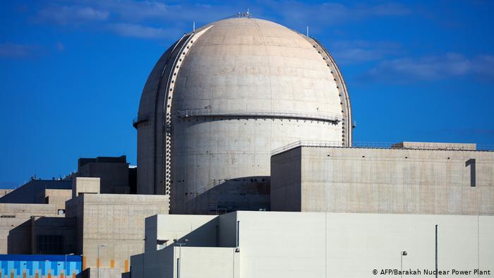 VAE Erste AKW in Barakah an das Stromnetz angeschlossen (AFP/Barakah Nuclear Power Plant)