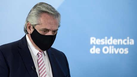 """Alberto Fernández afirma que tiene un plan económico y cuestiona las protestas: """"No nos van a doblegar los que gritan"""""""