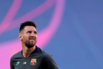 Encuentro cara a cara entre Messi y Koeman clave para el futuro del argentino (Foto: Reuters)