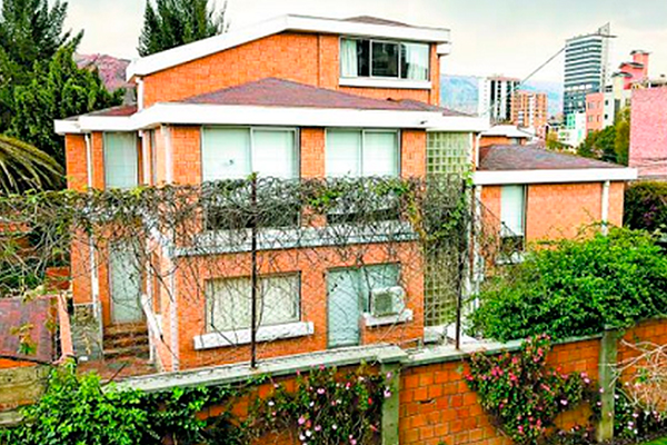 Embajada de México en Bolivia Foto: Milenio