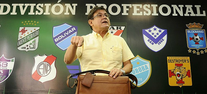 Omar Dorado, gerente nacional de Licencia de Clubes. Foto: internet
