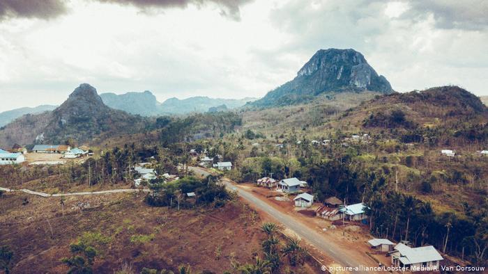 Indonsien | Drohnenaufnahme von Kupang, (picture-alliance/Lobster Media/R. Van Oorsouw)