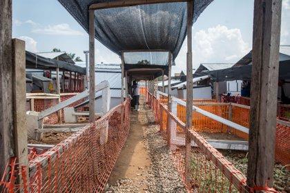 Centro de tratamiento del ébola en Beni, República Democrática del Congo (Europa Press)