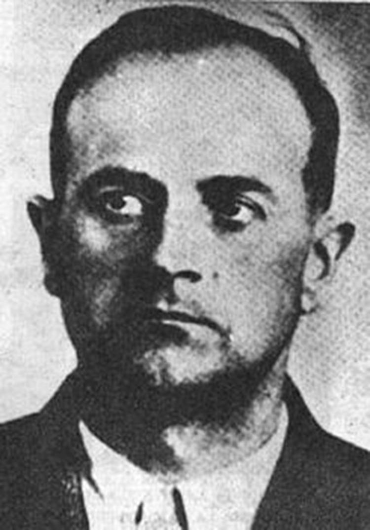 Eduard Roschman, el comandante del gueto de Riga, a quien apodaron