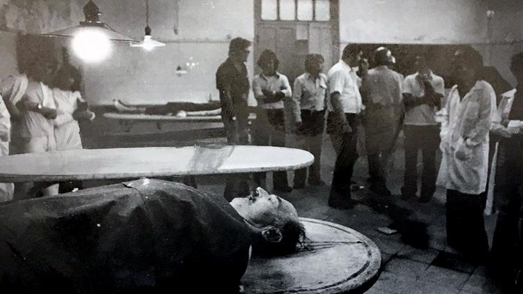 Pesaba 120 kilos, murió de un infarto de miocardio, había huido al Paraguay con unos periodistas (el autor de esta nota) pisándole los talones (ABC Color)