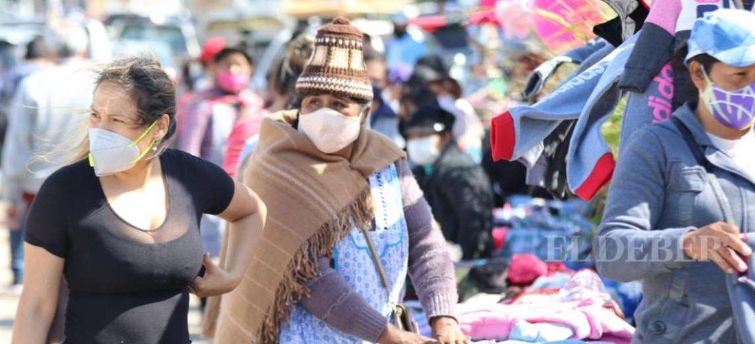 Hasta la fecha Santa Cruz registra 39.969 contagios. Foto: Ricardo Montero