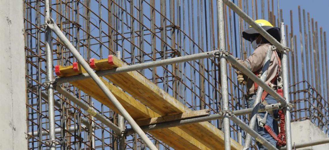 La construcción dejó de ser el sector que empuje a la economía (Foto: Ricardo Montero)