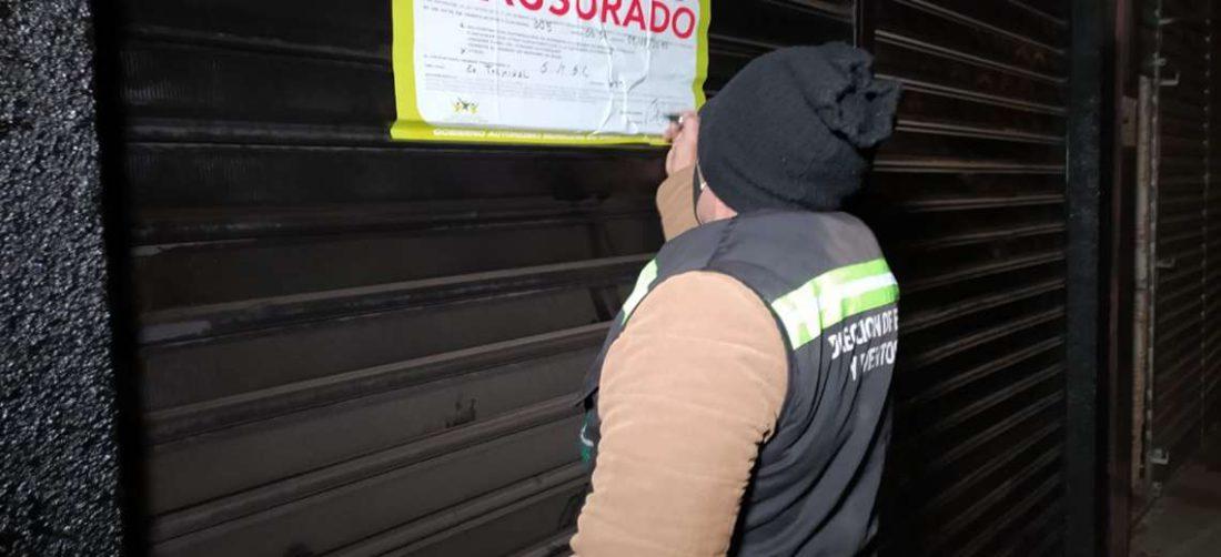 En el operativo se recorrió varias zonas de la ciudad (Foto: Alcaldía Municipal)