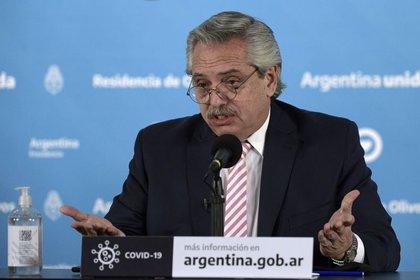 Alberto Fernández, presidente de la Nación