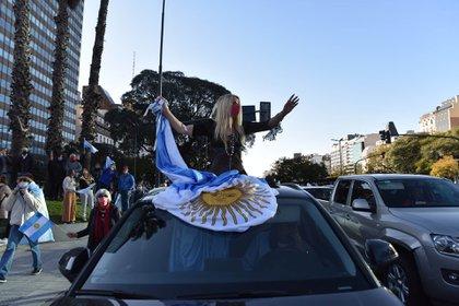 El presidente Alberto Fernández cuestionó los dichos de Mauricio Macri en apoyo a la marcha del 17 A(Franco Fafasuli)