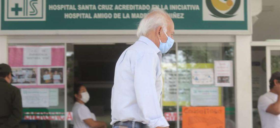 Hospital central está en la calle España (Foto. Jorge Ibáñez)Hospital central está en la c