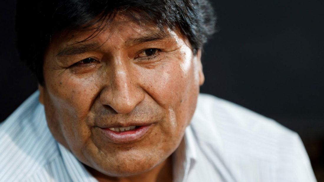 El expresidente Evo Morales. CRÉDITO: RCN