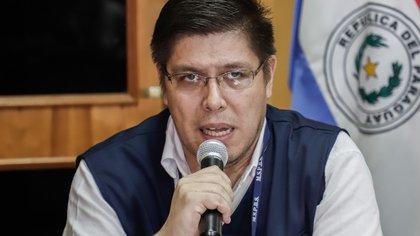 El viceministro de Salud, Juan Carlos Portillo. EFE/ Nathalia Aguilar/Archivo