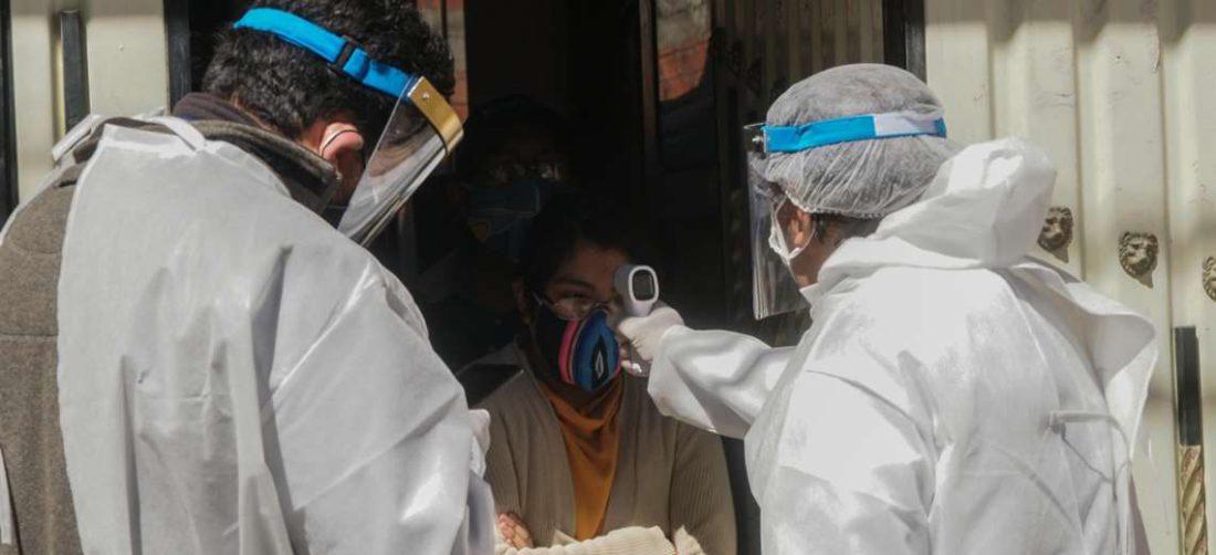 Aumentan los contagios de Covid-19 en Bolivia. Foto APG