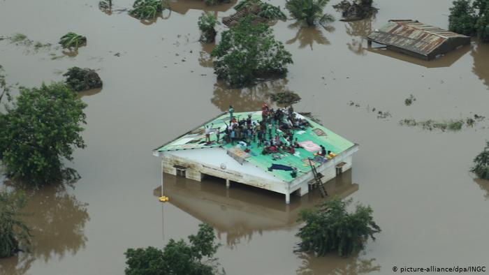 Mosambik Wirbelsturm Idai (picture-alliance/dpa/INGC)