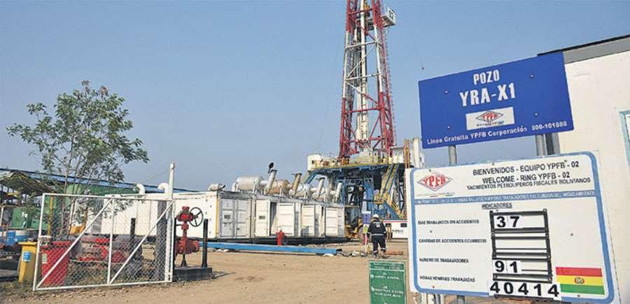 YPFB realiza trabajos para determinar si el proyecto de gas Yarará X1 es rentable o no.