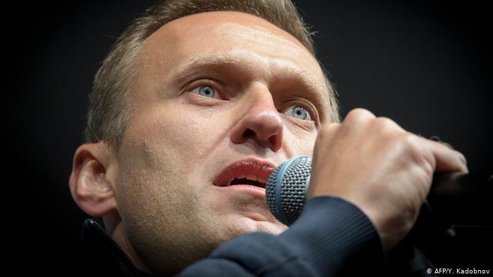El político opositor ruso Alexei Navalny.