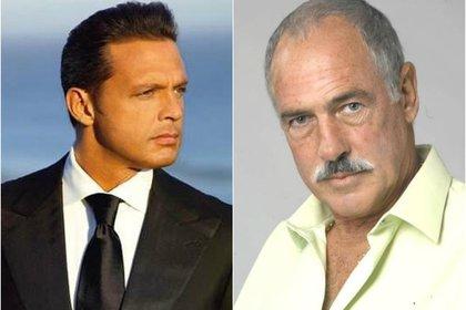 Andrés García advirtió a Luis Miguel sobre las intenciones de su padre con Marcela Basteri (Instagram)